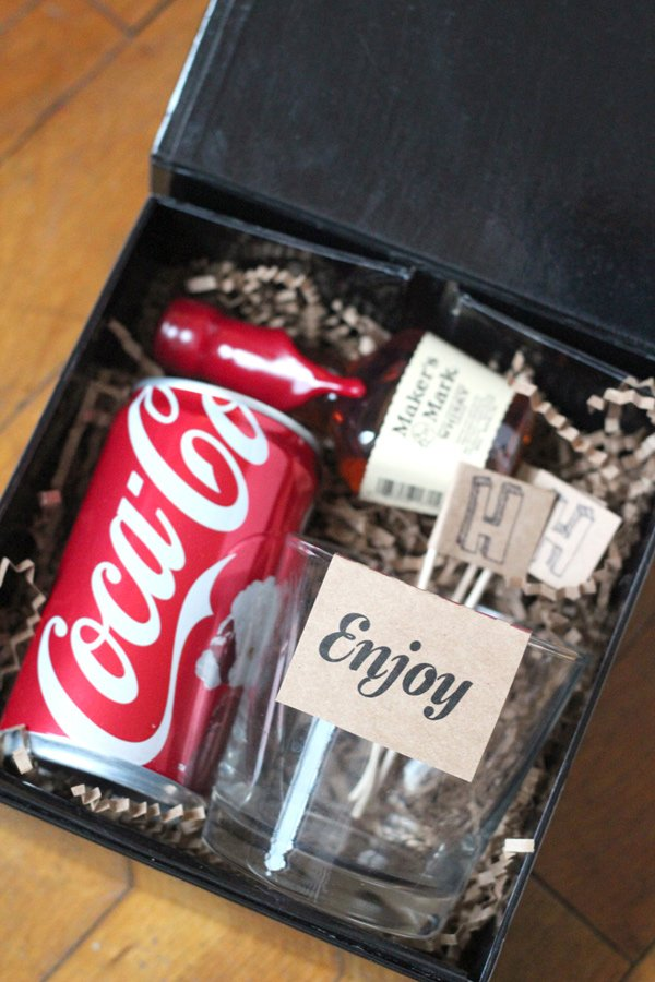 Whisky And Coke Kit Love This As A Birthday Gift For A Guy