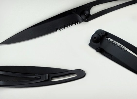 All Black 34 Grams Pocket Knife | Cool Material