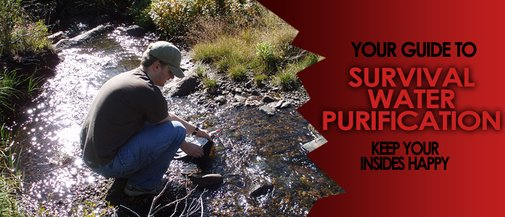Survival Water Purification | Manly Adventure