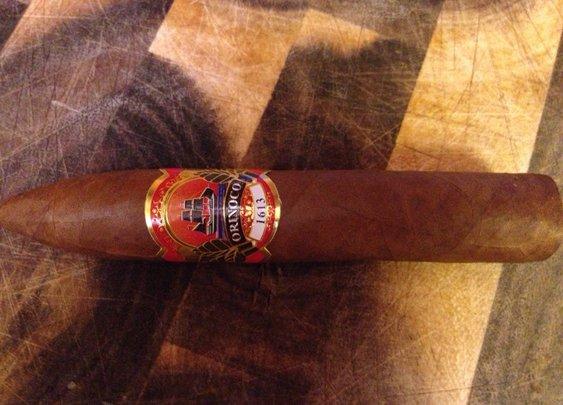 Orinoco 1613 Torpedo | Cigar and Whiskey