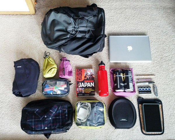 Overnight working trip packing list