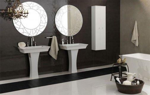 Peacefull Classic Bathroom Designed by Regia