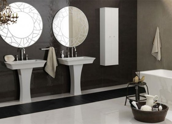 Peacefull Classic Bathroom Designed by Regia