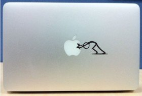 Macbook Decal Sticker  | Cheaper Than A Shrink