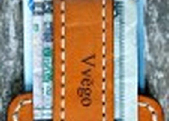 Vvapor Series Front Pocket Wallet/Money Strap