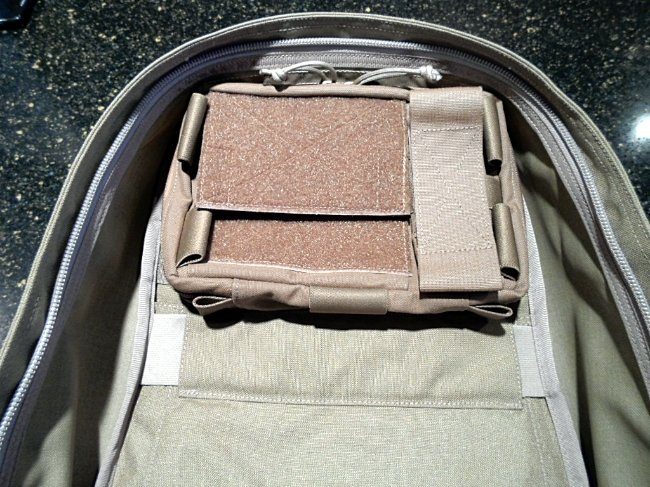 Admin Pouch Options for the GoRuck GR1 | Loaded Pocketz
