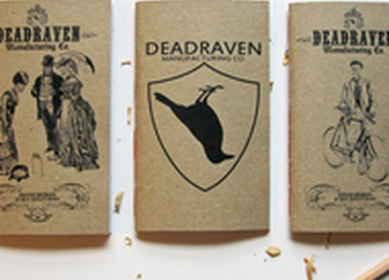 Deadraven. Purveyors and Makers of Exquisite Notebooks and Notepads