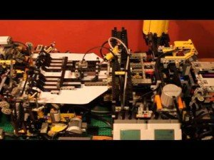 Lego Paper Plane Folding Machine [3 Times Actual Speed] | ClickExist