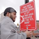 Rap Quotes as Street Signs in NYC | Cool Material