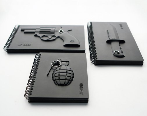 Armed Notebooks - Make notes, not war