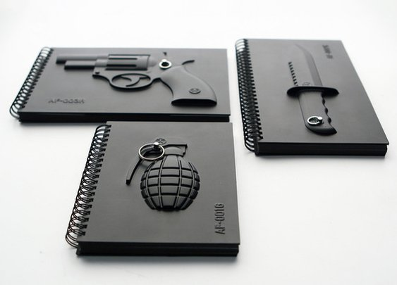 Armed Notebooks - Make notes, not war