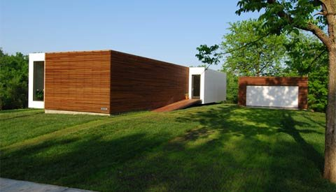 Modular 4 Prefab House Designed by Studio 804