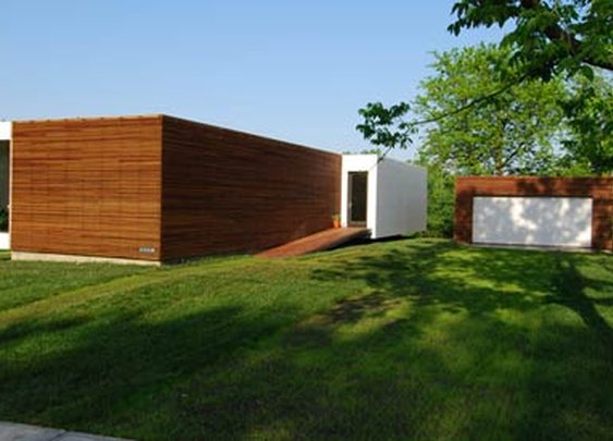 Modular 4 Prefab House Designed by Studio 804