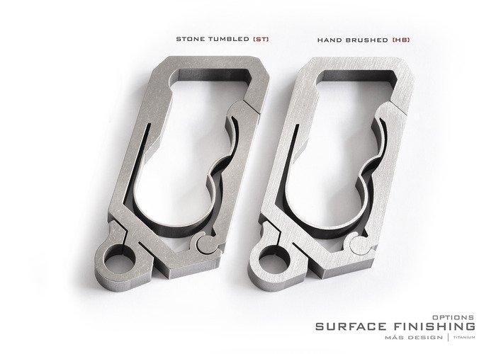 Titanium Keychain / Key Carabiner