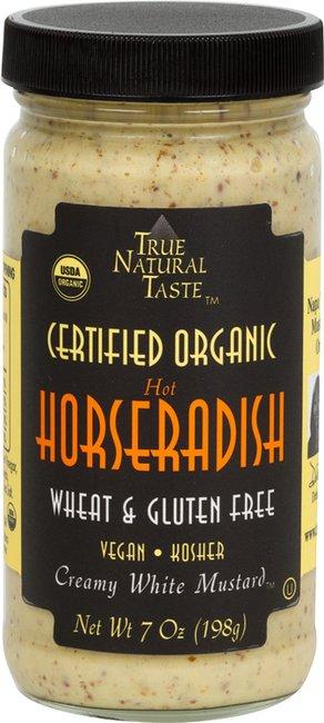 Organic Horseradish Mustard | True Natural Taste