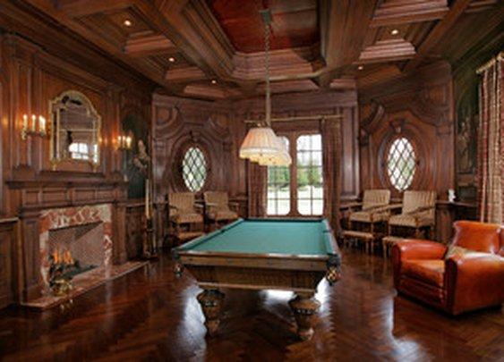 A Gentleman's Billiards Room