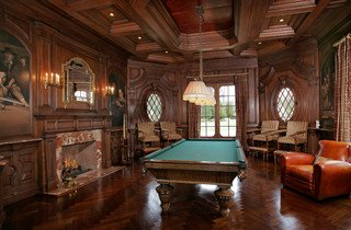 A Gentleman's Billiards Room