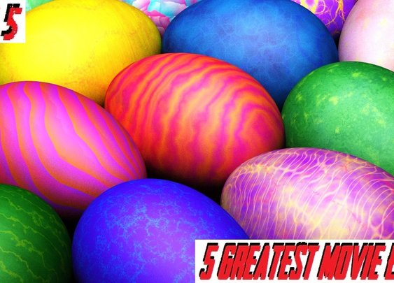 The Friday 5: Great Movie Easter Eggs : 101 or Less