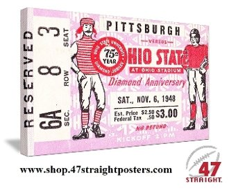 Best Father's Day Gifts 2013, Ohio State football art