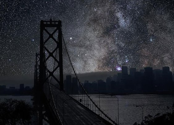 What Major World Cities Look Like at Night, Minus the Light Pollution | Collage of Arts and Sciences