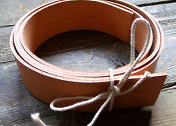 Learn to Make Your Own Belts and Rifle Slings