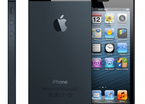 an iPhone 5...smooth