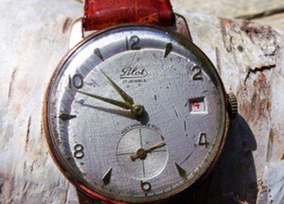 Swiss Pilots Watch Circa 1960's