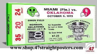 OU football gifts, 1973 OU football, Best Father's Day Gifts 2013