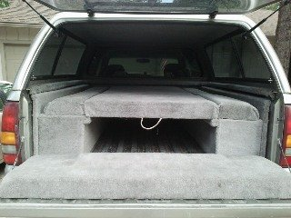 How to Build a Pickup Truck Sleeping Platform.