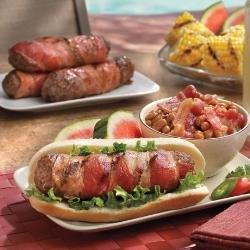 Bacon Cheeseburger Dogs