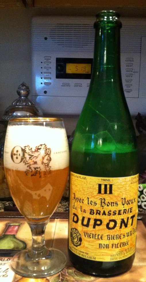 Brasserie Dupont Avec Les Bons Voeux | Beerproof - Adventures in Drinking