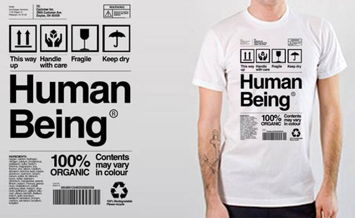 Human Being T-Shirt by Origin68