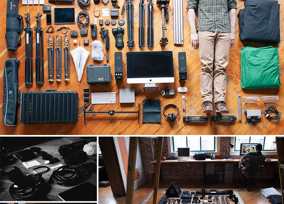 A Man & His Tools | Urban Influence