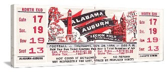 College football art. Alabama football art. Alabama Football gifts.