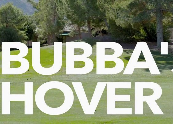 Bubba Watson's Hover Golf Cart - YouTube (1:46)
