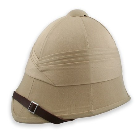 Antique Explorer's Pith Helmet. No self respecting explorer would leave home without one.