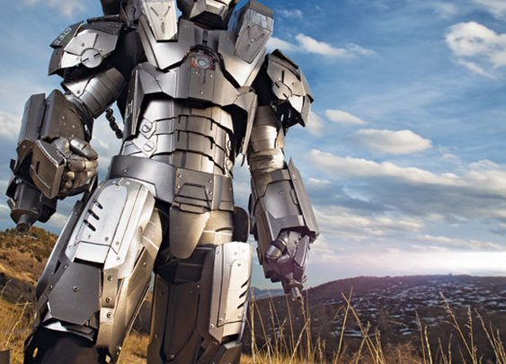 You Built What?! A Real Iron Man Suit   Popular Science