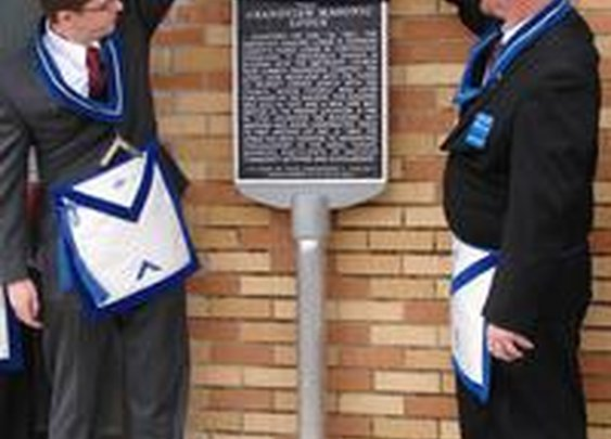 Grandview Masonic Lodge receives historical marker »  Local News »  Cleburne Times-Review, Cleburne, TX