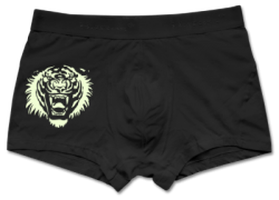 Tiger Roar Glow in the dark Boxer shorts by Cheerful Madness!! at Shirtcity