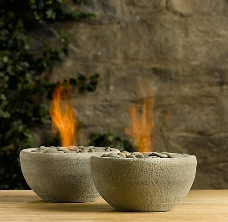 How to Make a Rock Bowl Flame » Curbly | DIY Design Community