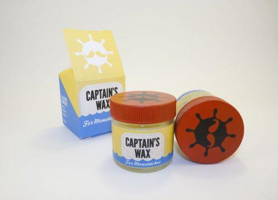 Captain's Wax: Moustache Wax