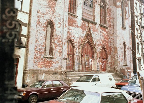 Early 1980s Lower East Side, Norfolk Street in New York City