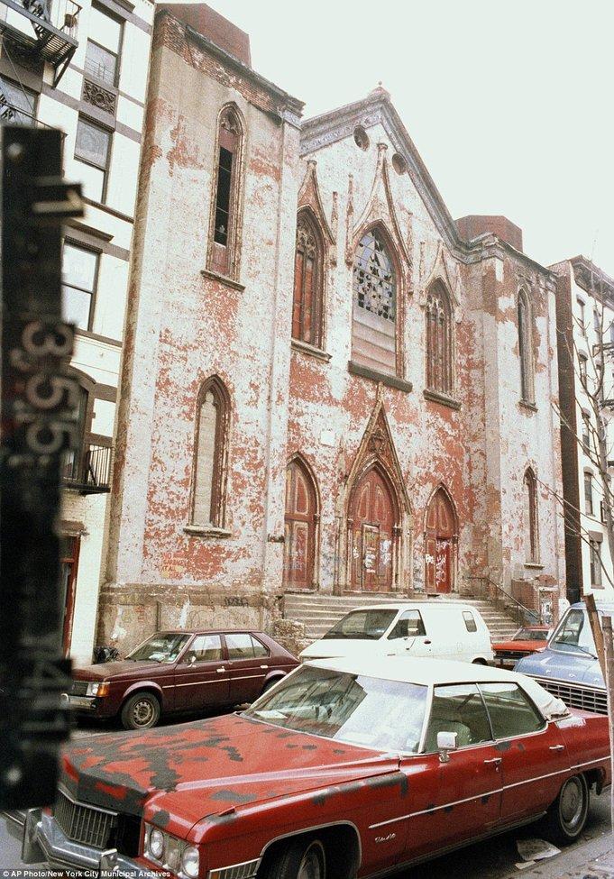 Early 1980s Lower East Side, Norfolk Street in New York City