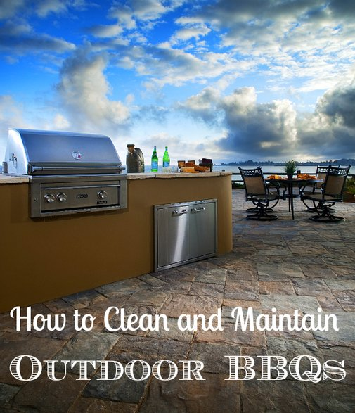 How To Clean A Gas Or Charcoal Barbecue Grill