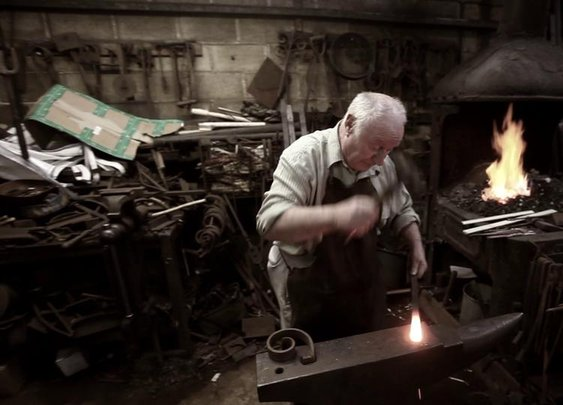 Britain's Longest-serving Blacksmith on Vimeo