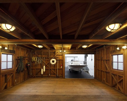 A Man's Boat House