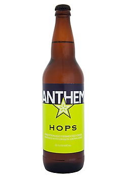 Cider Review – Anthem Hops | Crafty And The Beast