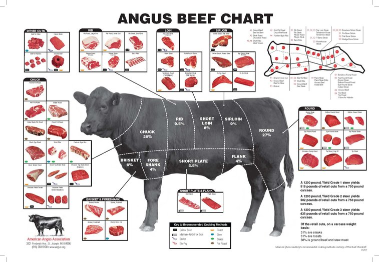 Know Your Beef & What to do With It. : 101 or Less