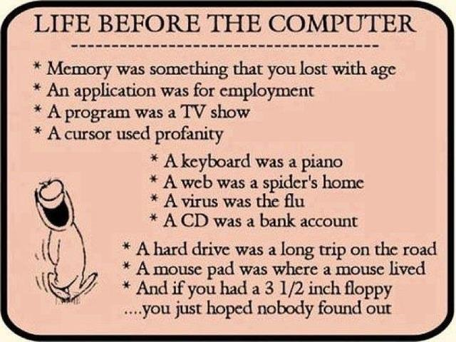 Life before the internet