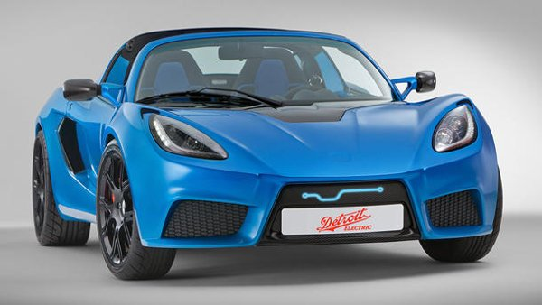 Detroit Electric reveals the SP:01, claiming the fastest electric sports car in the world | Motoramic - Yahoo! Autos